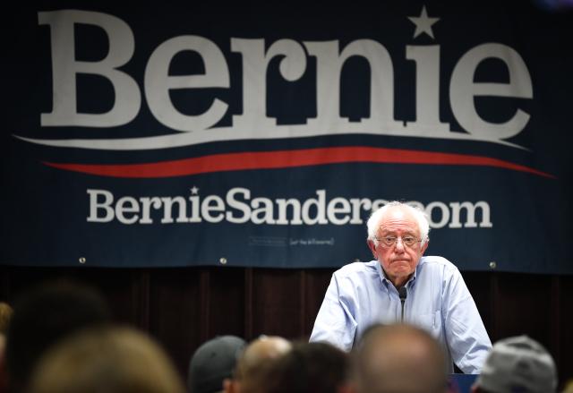 Bernie Sanders se v primárkách Demokratické strany uchází o nominaci do amerických prezidetských voleb v roce 2020