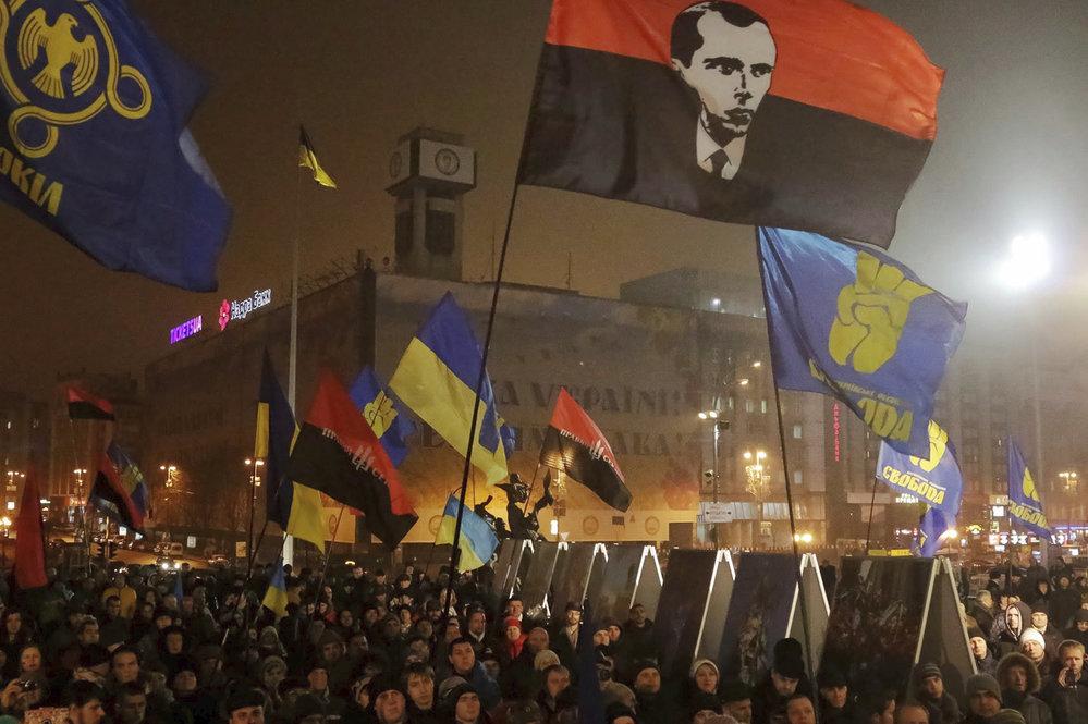 Pochod Pravého sektoru v Kyjevě, 2015