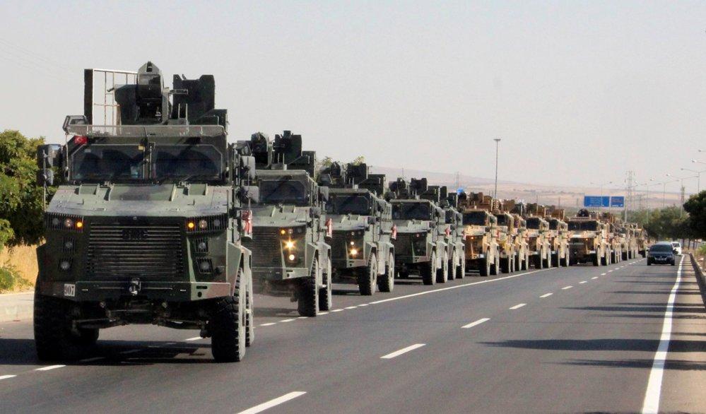 Turecko zahájilo ofenzivu na severu Sýrie (9. 10. 2019)