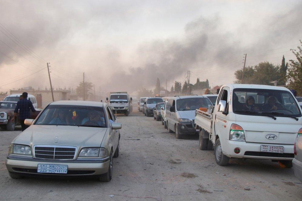 Turecká vojenská invaze do Sýrie.