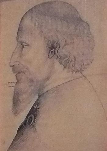 Zikmund Lucemburský na obraze od Pissanel.
