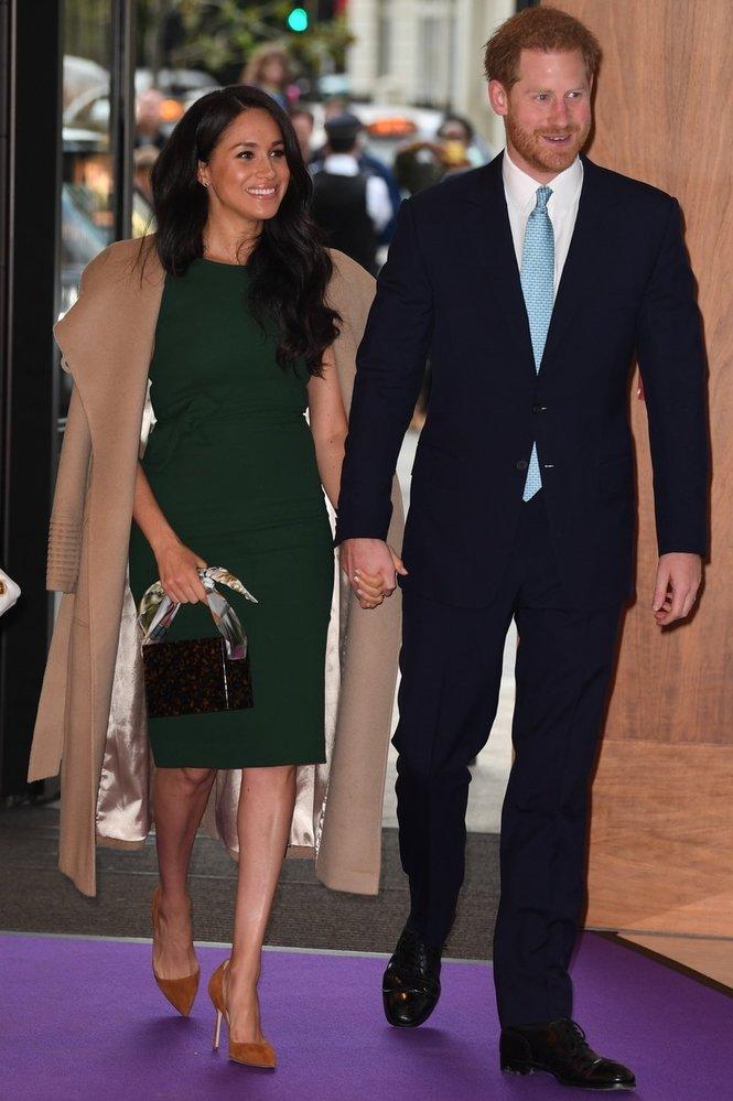 Princ Harry a vévodkyně Meghan navštívili WellChild Awards
