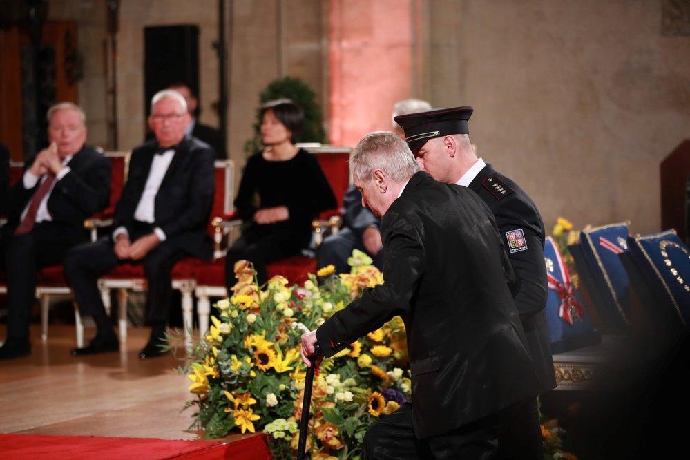 Státní vyznamenání 28. října 2019: Miloš Zeman