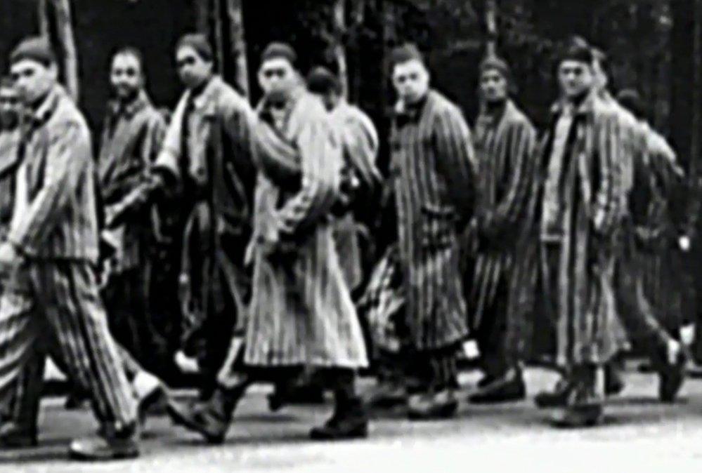 Koncentrační tábor Osvětim.