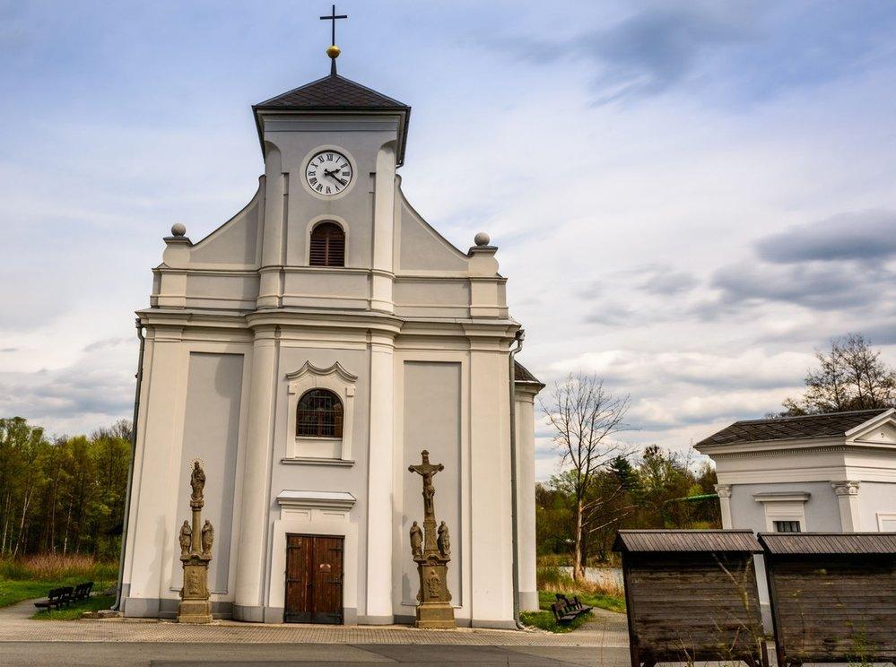 Šikmý kostel Sv. Petra z Alkantary, Karviná