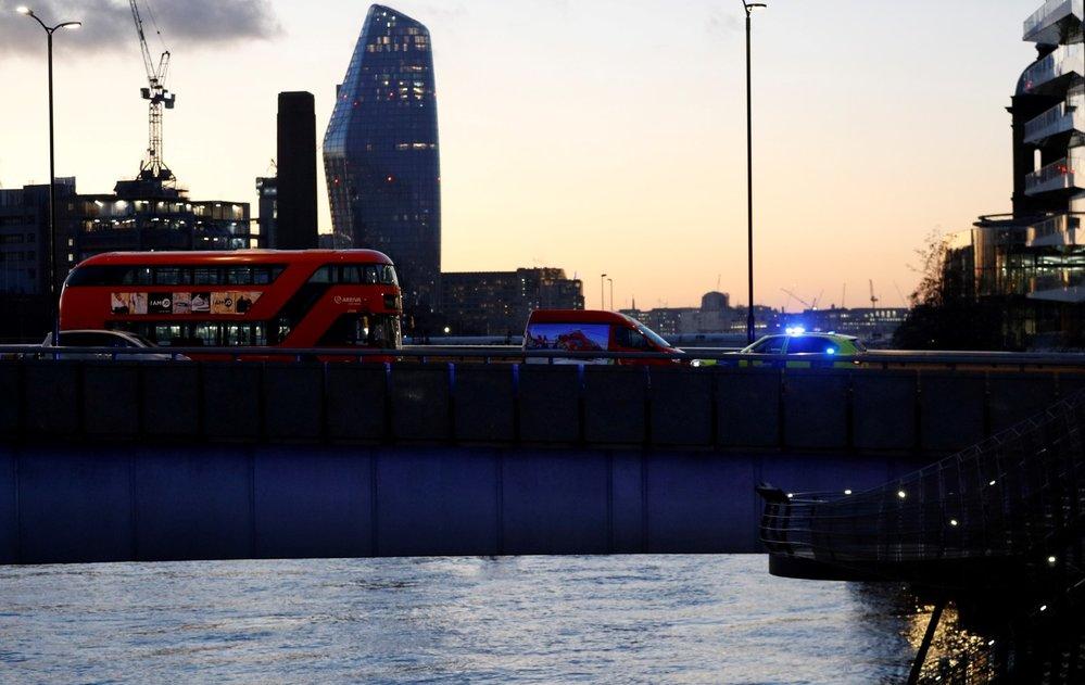 London Bridge v Londýně několik hodin po útoku.