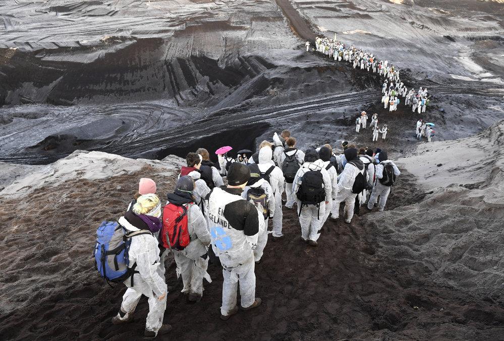 Aktivisté obsadili důl v Německu