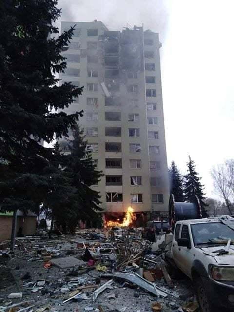 Výbuch plynu ve slovenském paneláku