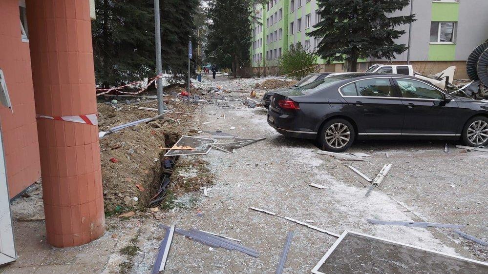 Výbuch plynu v Prešově