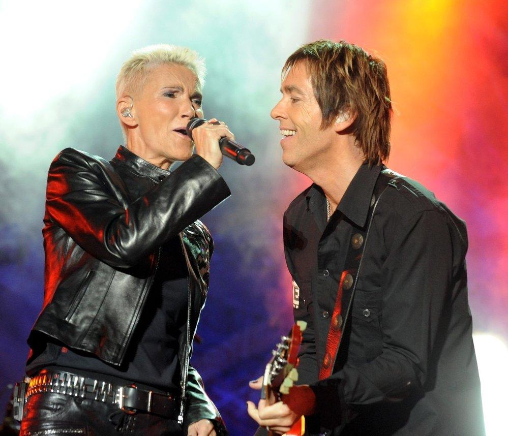 Populární duo Roxette v roce 2011.