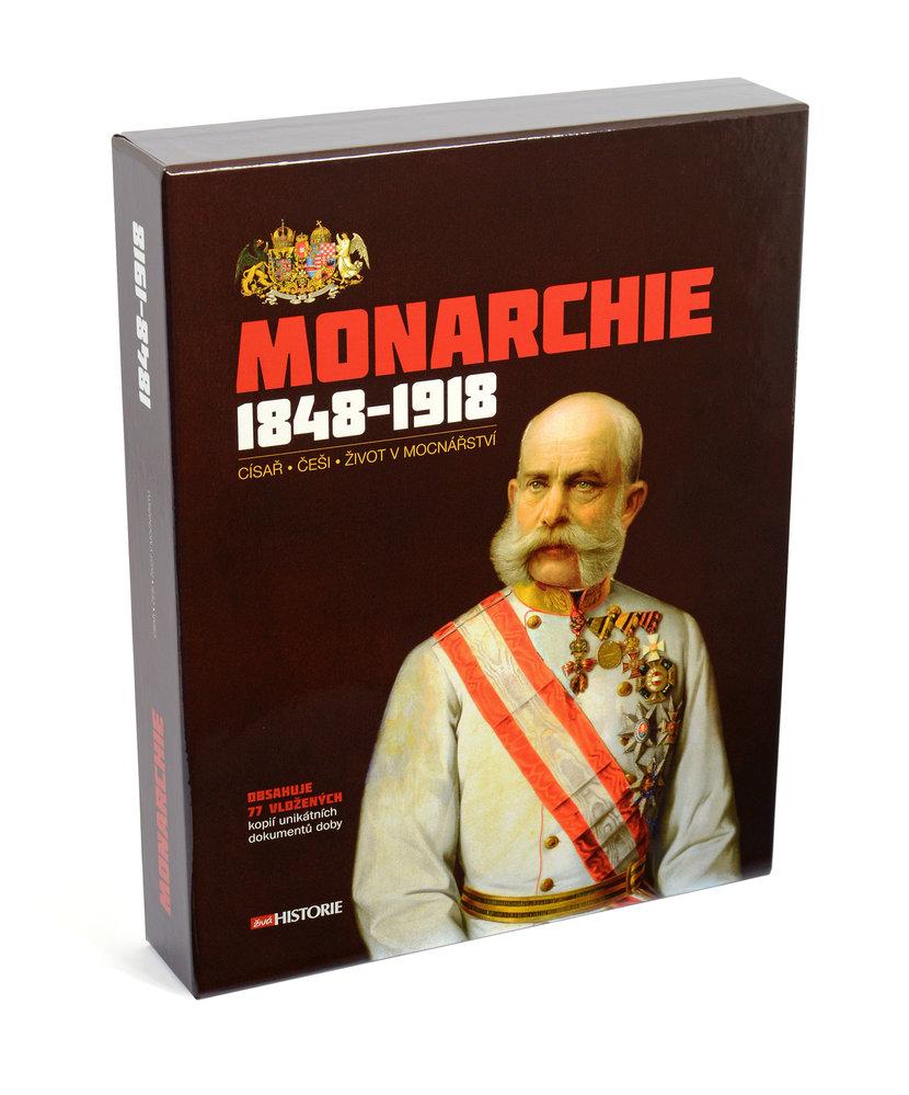Obálka knihy Monarchie 1848-1918: Císař, Češi, život v mocnářství