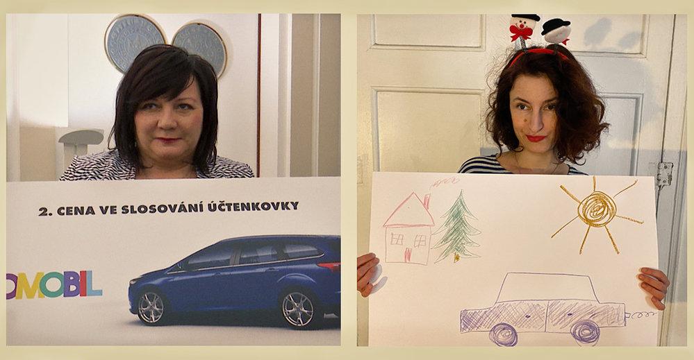 Vánoční obrázky Aleny Schillerové