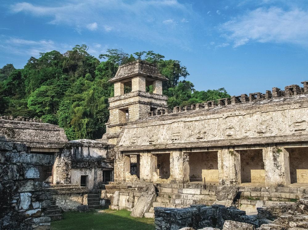 Mayské ruiny Palenque