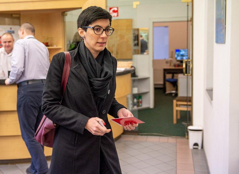 Předsedkyně TOP 09 Markéta Pekarová Adamová na jednání Komise pro spravedlivé důchody. (10. 1. 2020)