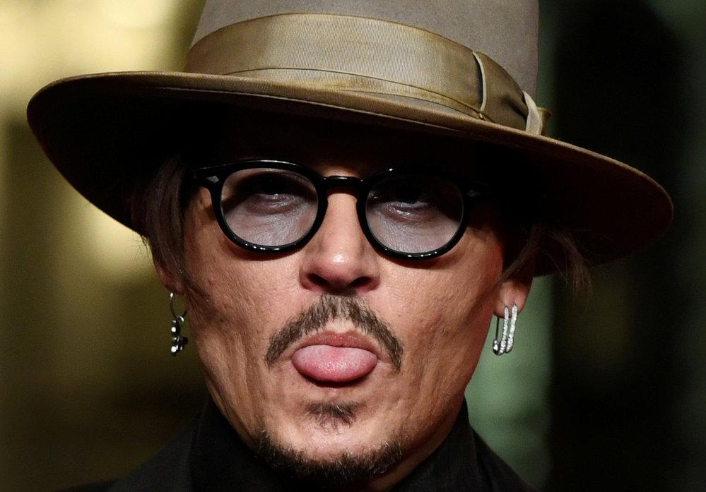 Johny Depp na 70. ročník festivalu berlínského filmového festivalu Berlinale.