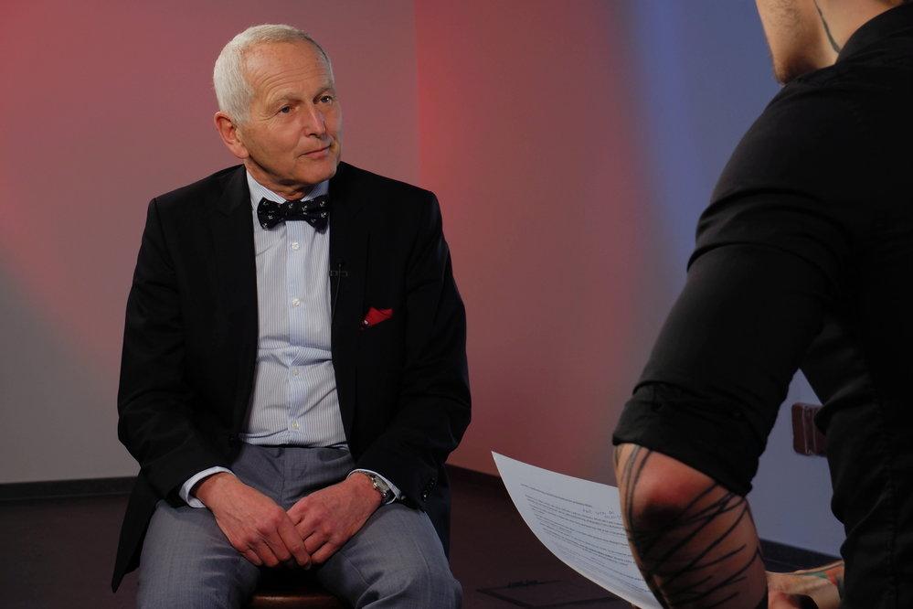 Jan Pirk v pořadu Prostor X