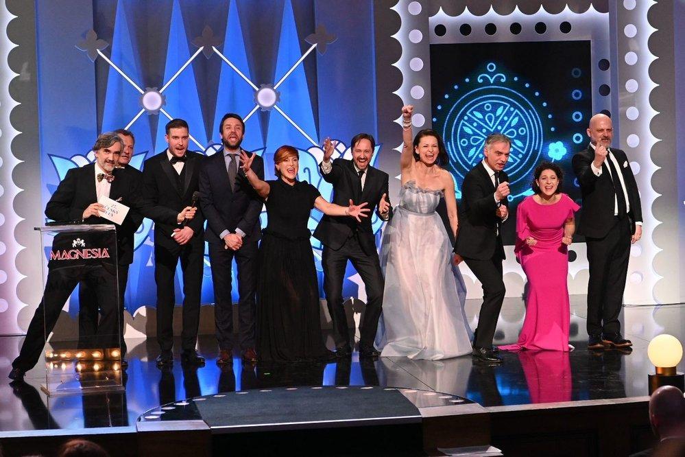 Ansámbl Dejvického divadla vyhlašuje pro nejlepší televizní film nebo minisérii sérii Vodník