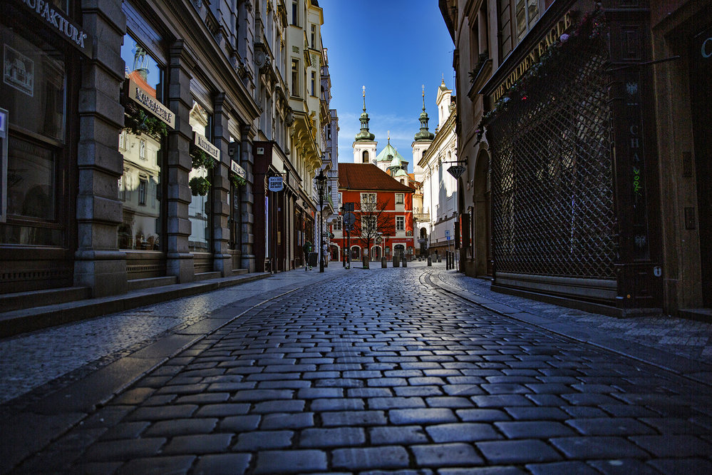 Centrum Prahy za časů karantény očima naší fotografky Nguyen Phuong Thao