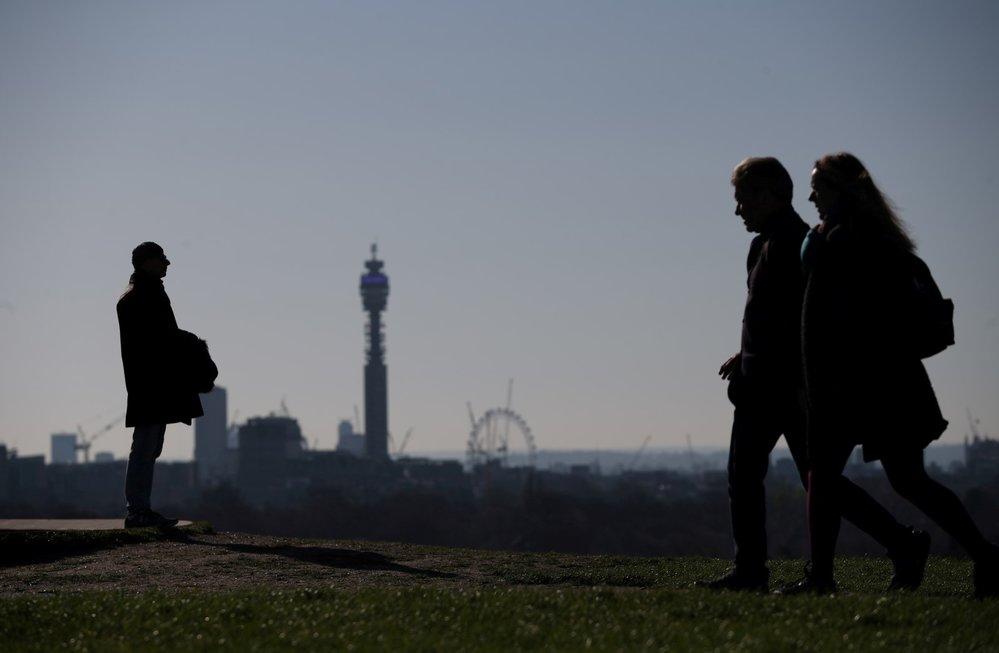 Koronavirus zasáhl hlavní město Británie Londýn (22. 3. 2020)