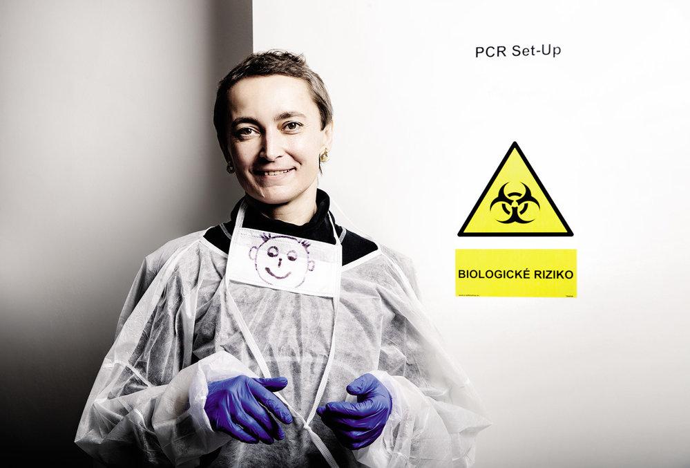 Molekulární genetička Soňa Peková