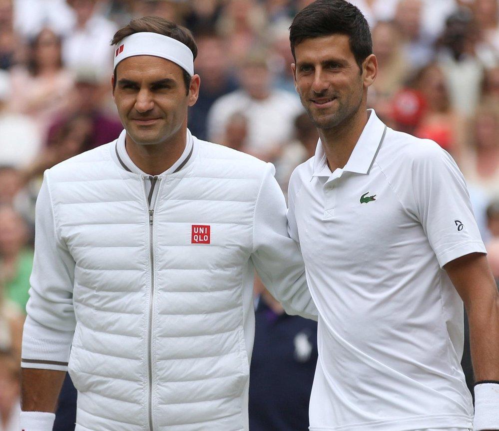 Novak Djokovič a Roger Federer si letos bitvu ve finále Wimbledonu nezopakují