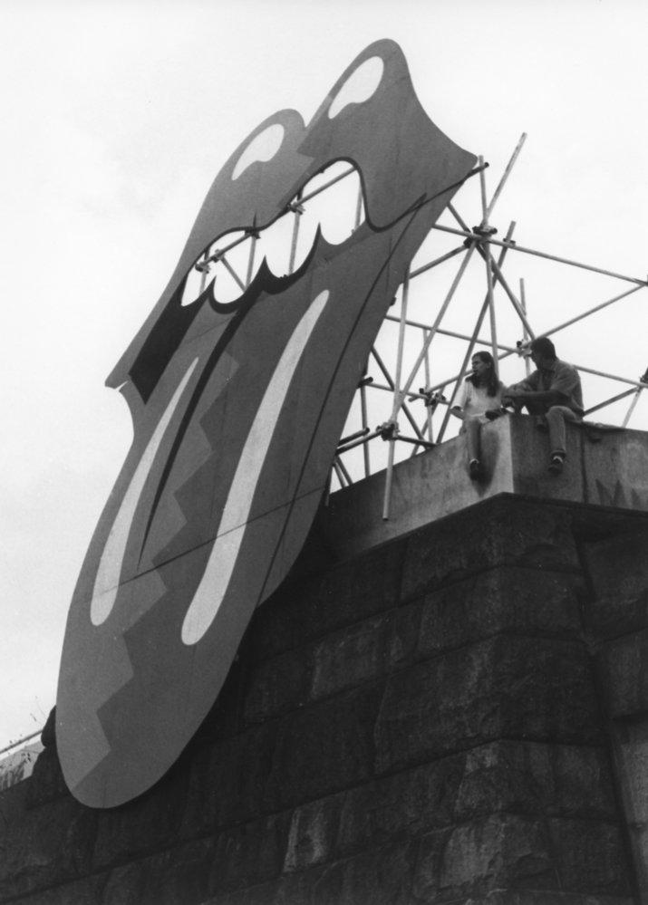 I takhle to vypadalo na Letné, kde stál sedm let Stalinův pomník.