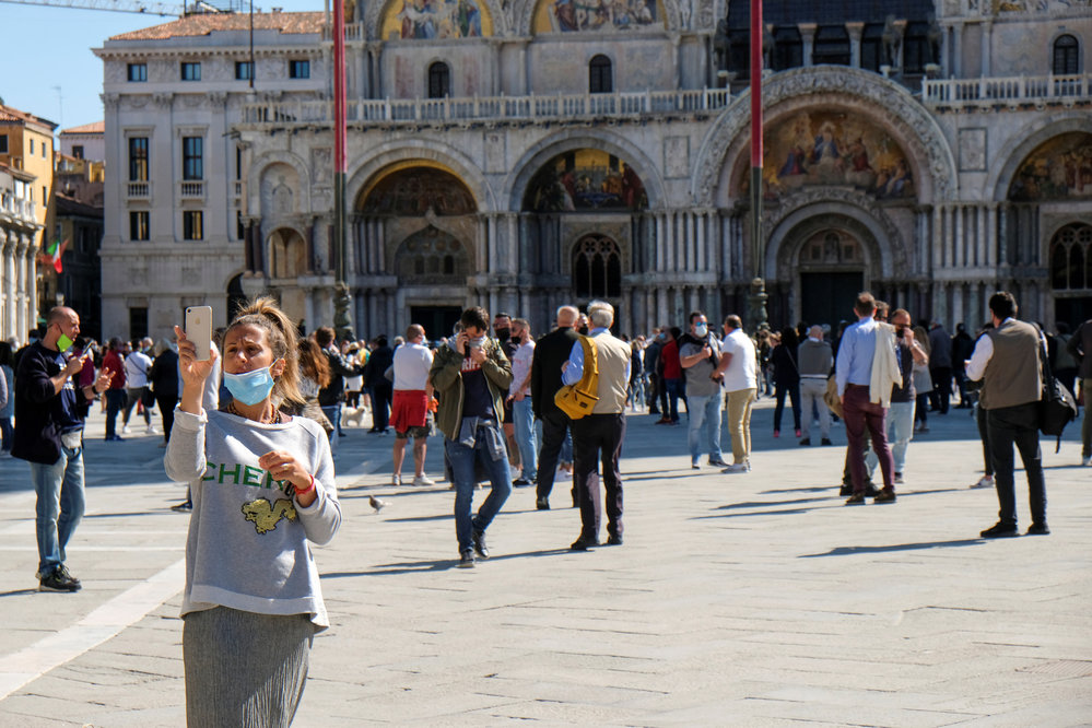 Itálie po pandemii koronaviru, (04.05.2020).