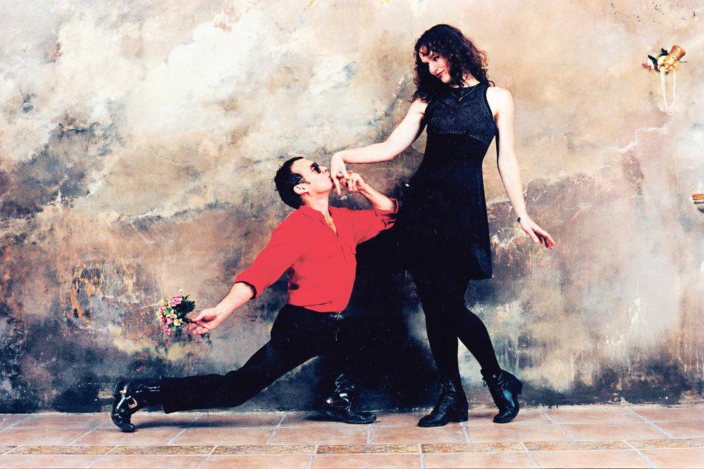 Jan Saudek a Sára Saudková