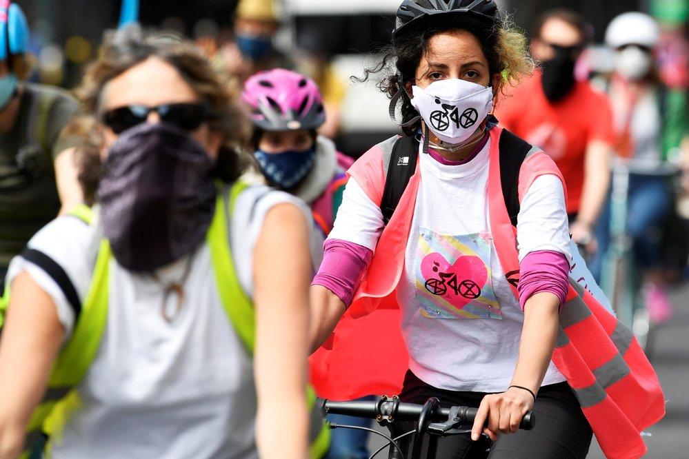 Londýn v době pandemie koronaviru (17. 5. 2020)