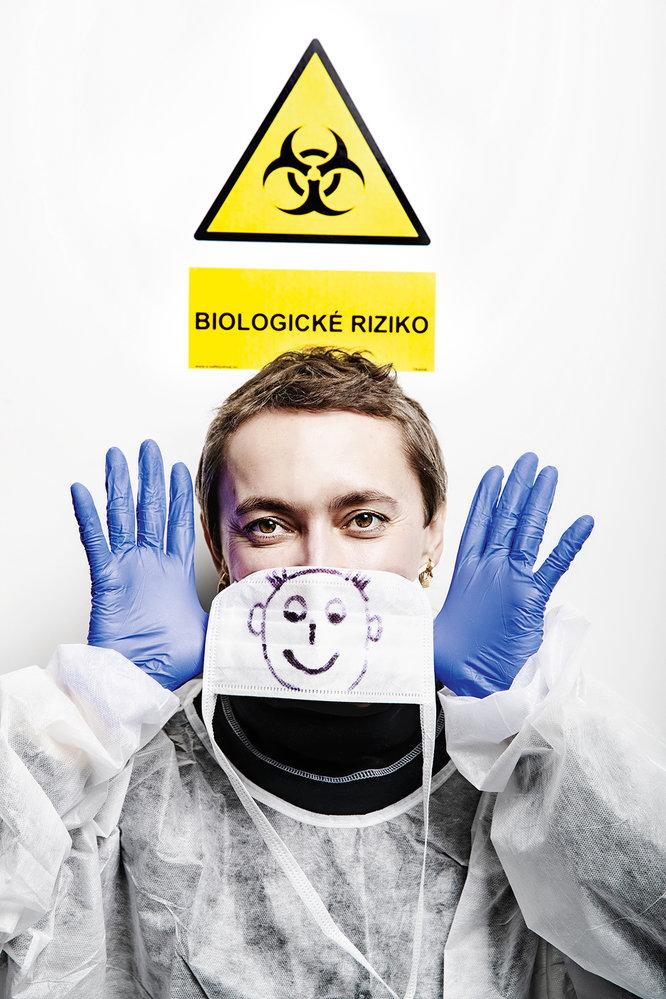 Mikrobioložka Soňa Peková