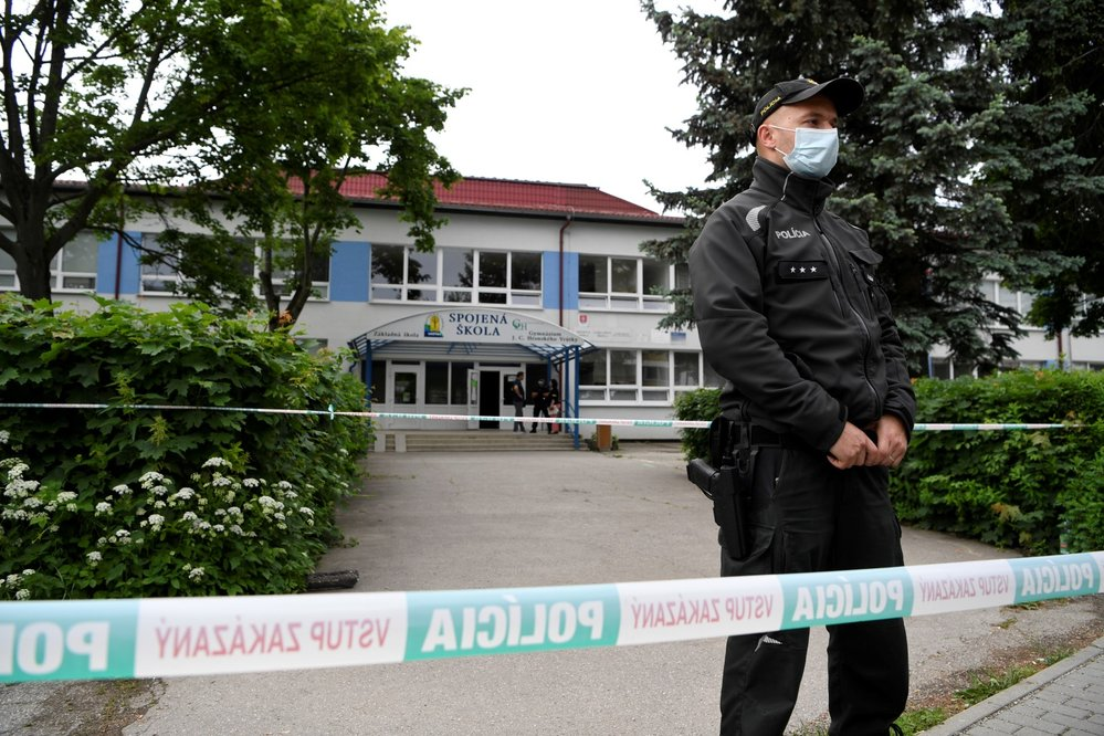 Útok na základní škole na Slovensku