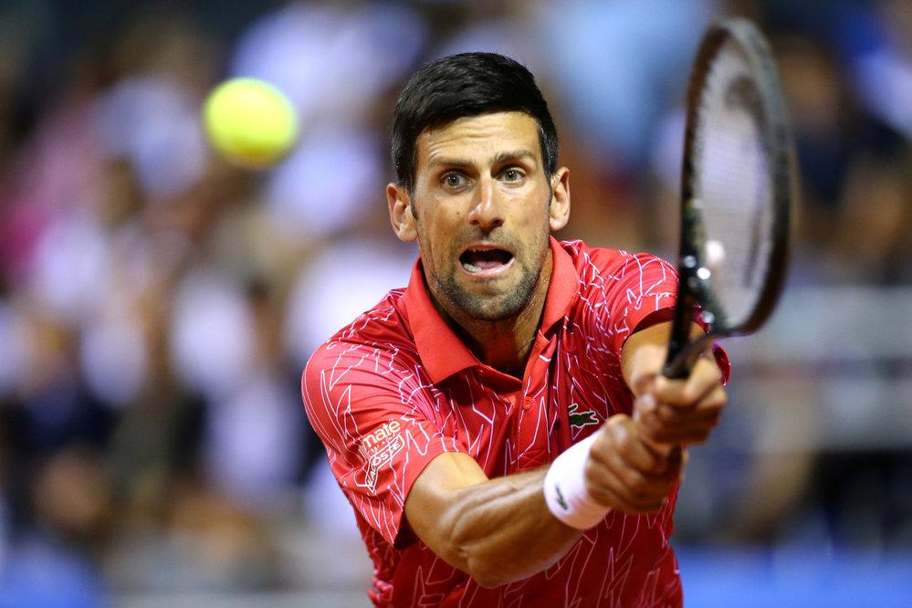 Novak Djokovič se připravuje na návrat ATP v rámci Adra Tour