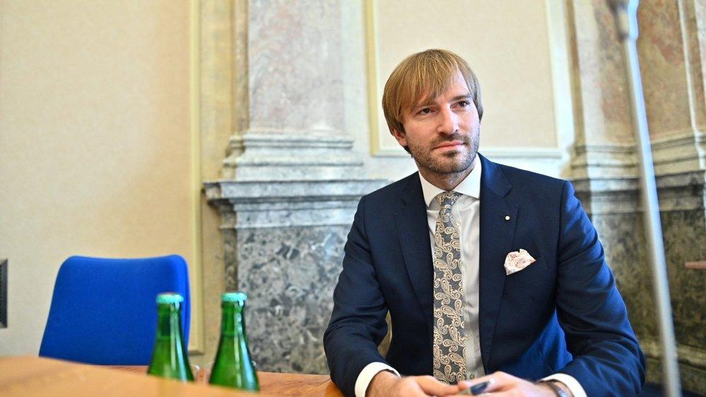 Ministr zdravotnictví Adam Vojtěch (za ANO)