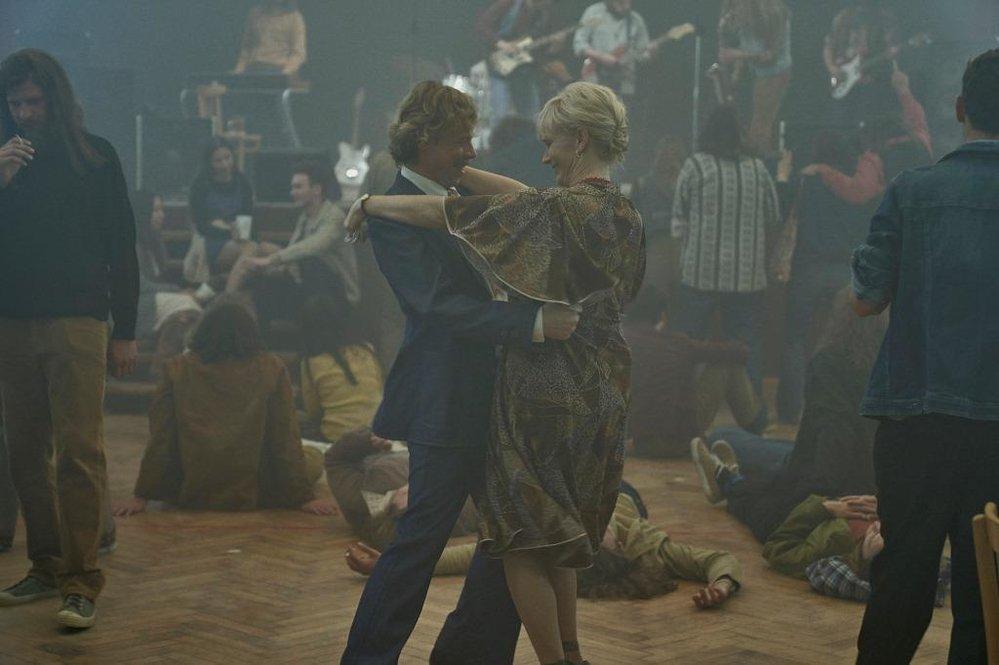 záběr z filmu Havel