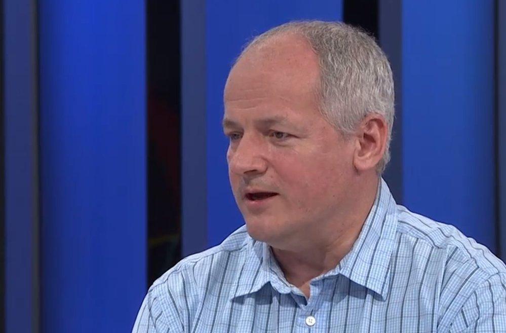 Vládní zmocněnec pro výzkum ve zdravotnictví Roman Prymula v Partii na CNN Prima News