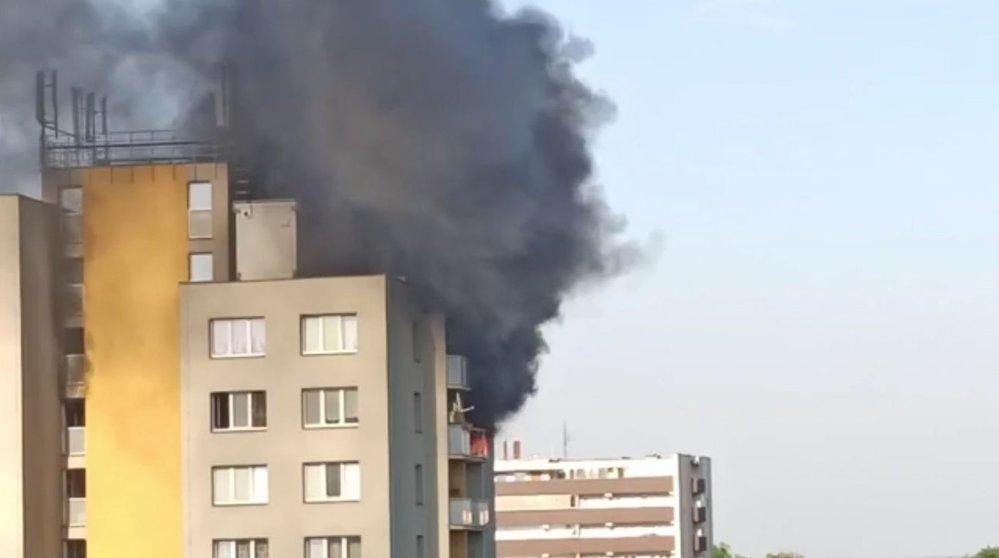 Tragický požár v Bohumíně