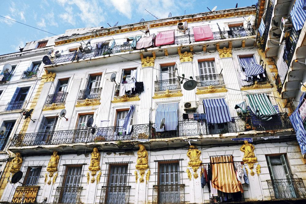 Nádherná štukatura koloniálních domů hlavního města