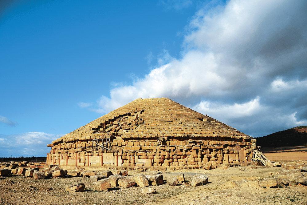 Hrobka Medracen, místo posledního odpočinku numidských vládců
