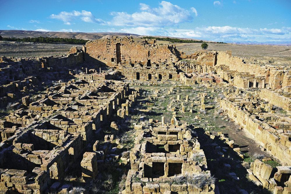 Timgad - Byzantinska pevnost