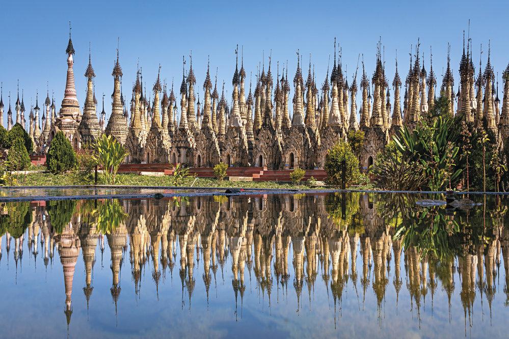 Komplex Kakku čítá okolo 2500 pagod. Většina z nich byla postavena v 17. a 18. století.