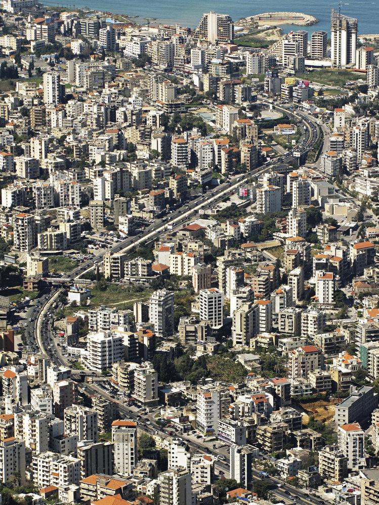 Rušné bejrútské předměstí Jounieh