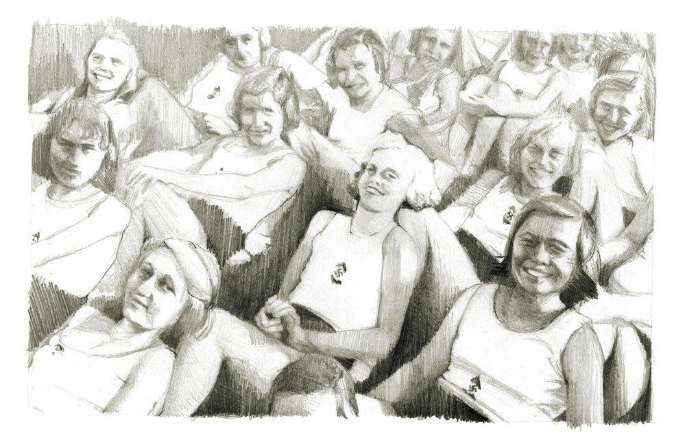 BDM slučovala dívky.