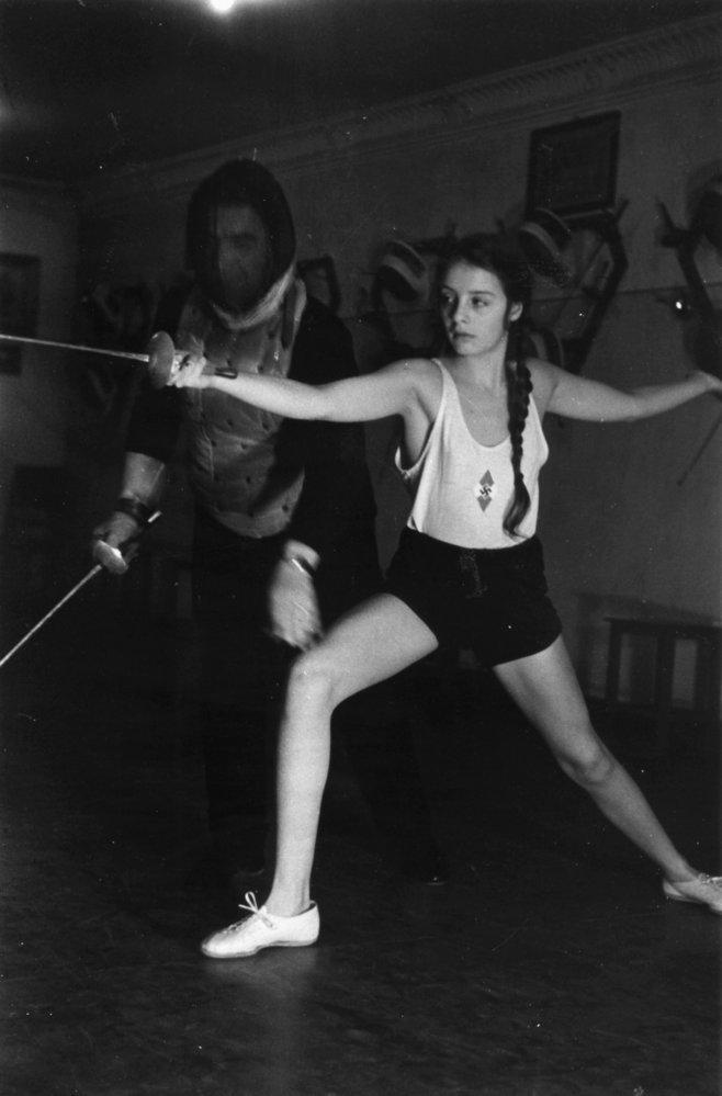 Dívky hodně fyzicky trénovaly.