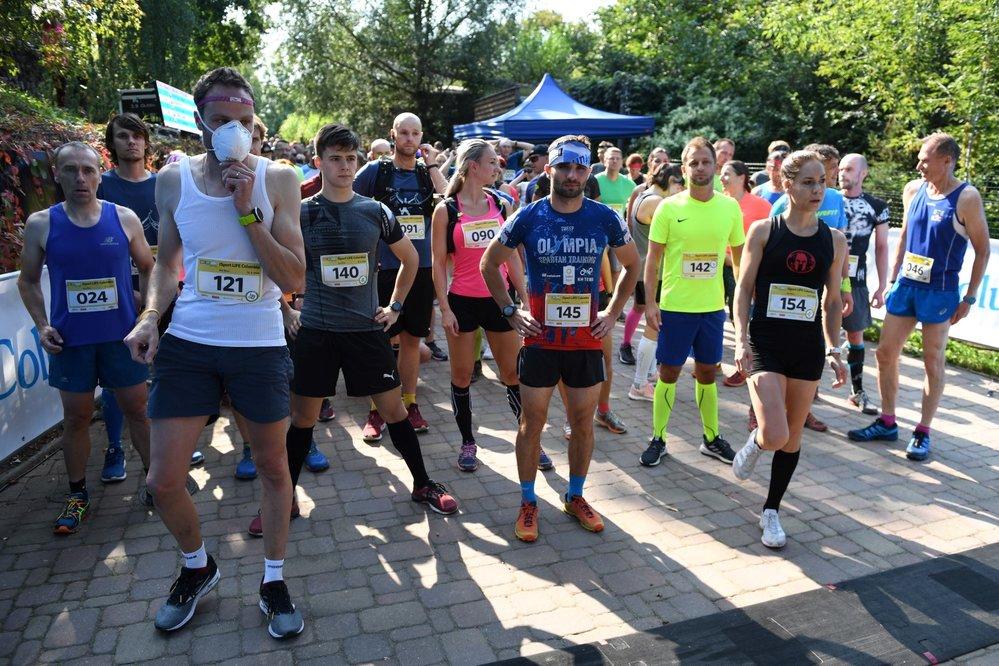 Start hlavního závodu v brněnské zoo
