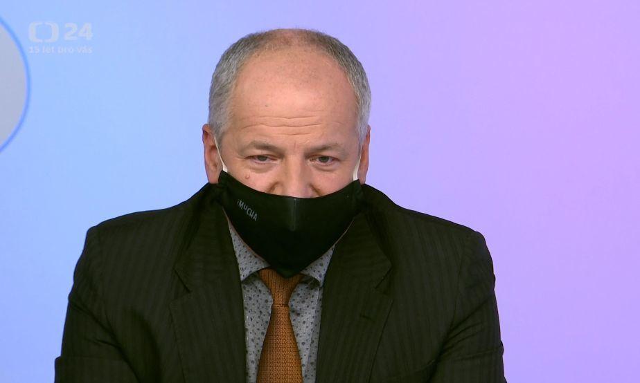 Epidemiolog Roman Prymula v České televizi (13. 9. 2020)