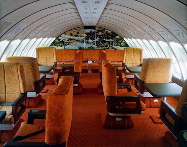 Každý cestující si mohl svoji sedačku dát bez problémů do polohy v leže.
