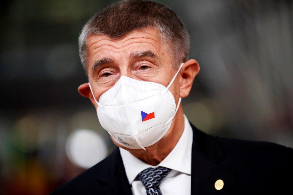 Summit evropských lídrů v Bruselu (2. 10. 2020): český premiér Andrej Babiš