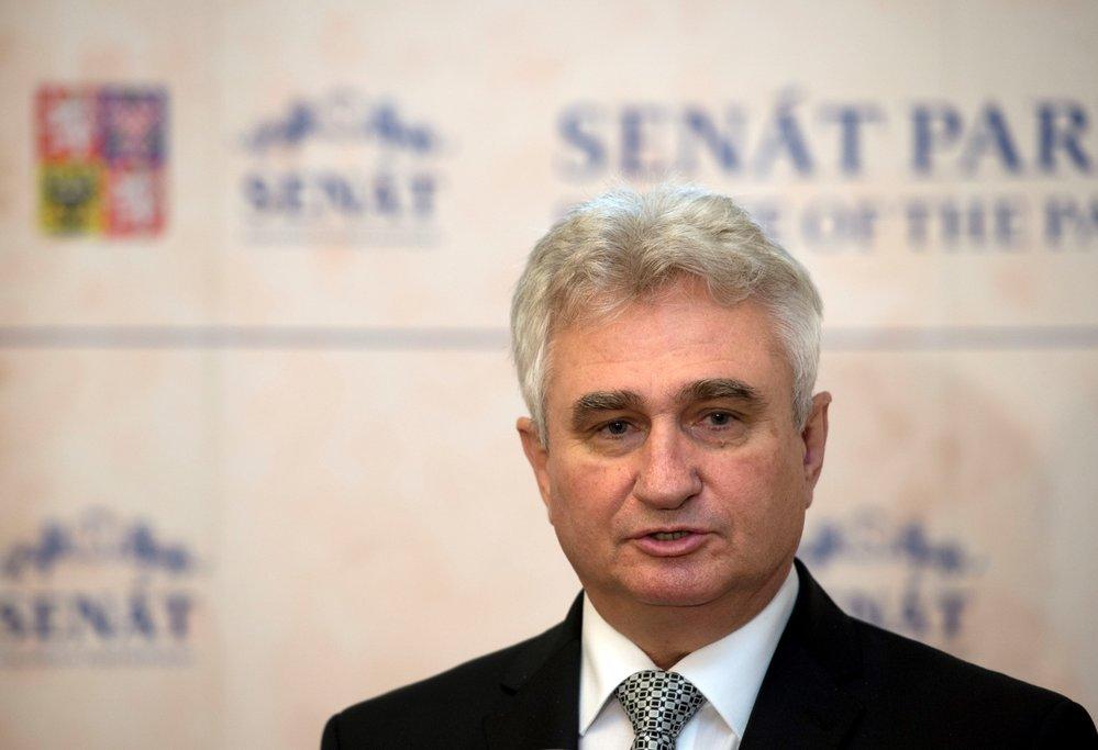 Senátor za obvod Pelhřimov a bývalý předseda horní komory Milan Štěch (ČSSD)