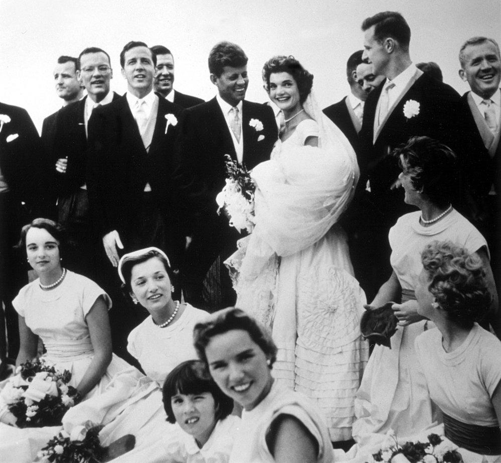 Fotografie ze svatby Jackie a Johna.