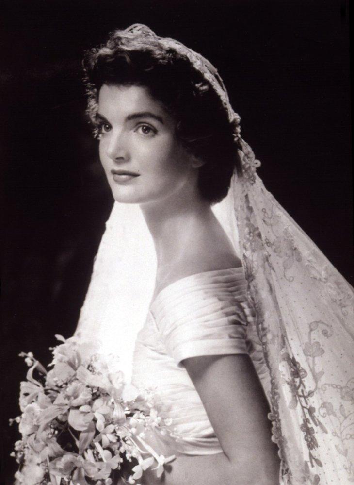 Svatební den Jackie Kennedy.